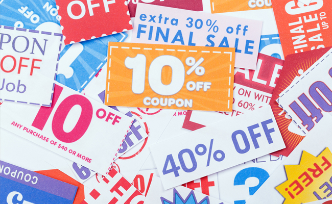 Coupons by Coupon Types